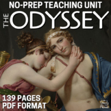 Odyssey Literature Guide - Teaching Guide PACKET   DISTANC