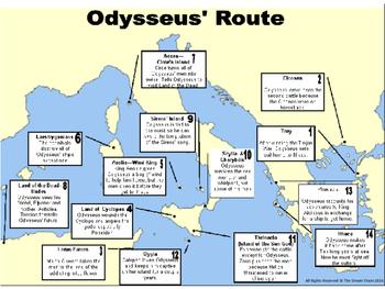the odyssey odysseus journey