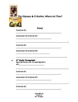 Odyssey/ O Brother, Where Art Thou? Essay