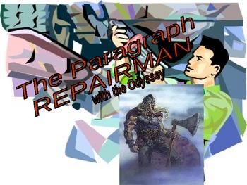 Odyssey Paragraph Repairman PowerPoint
