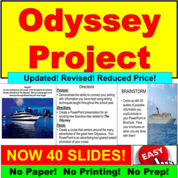 The Odyssey Project:  Analysis and Description!