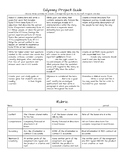 Odyssey Project Tic-tac-toe menu activity with rubric