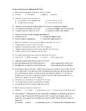 Odyssey Quiz Book 16: Odysseus and Telemachos Plot Against the Suitors