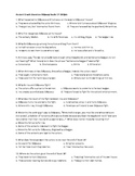 Odyssey Quiz Books 17-18: The Suitors Mistreat the Beggar