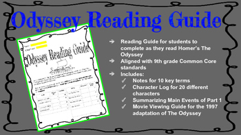 Odyssey Reading Guide