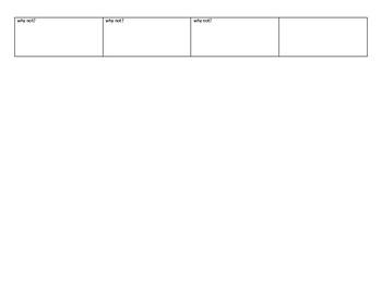 Odyssey Setting Chart