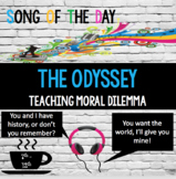 Odyssey: Song of the Day- analyzing tone, persuasive appeals, characterization