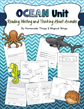 Ocean Unit: Reading, Writing & Thinking About Animals