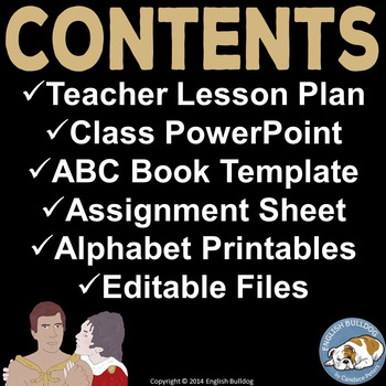 Oedipus Google Doc ABC Book: Collaborative Writing and Citing Activity