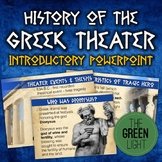 Oedipus, Antigone Greek Theater Introductory PowerPoint an