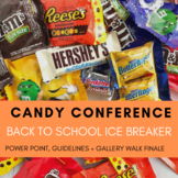 Candy Conference: A Back To School Ice Breaker Activity