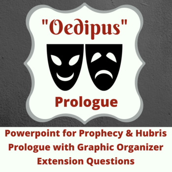 Oedipus Prologue