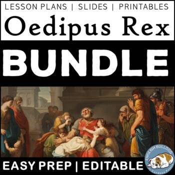 Oedipus Rex Activity FUN Bundle
