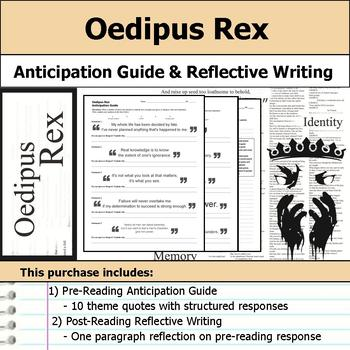 Oedipus Rex or Oedipus the King- Anticipation Guide & Reflection