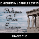 Oedipus Rex Essay Prompts and Samples