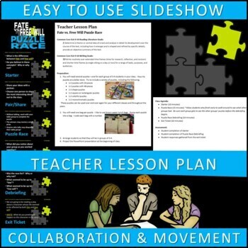 Fate vs. Free Will Puzzle Race