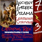 Oedipus Rex: Introduction to Greek Drama Learning Stations