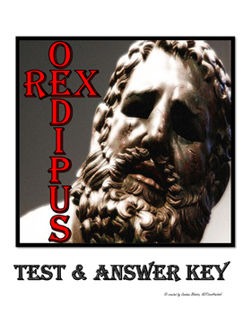 Oedipus Rex / Oedipus the King Test & Answer Key