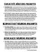 Oedipus Rex / Oedipus King Writing Prompts + Test & Answer Key (bundled)