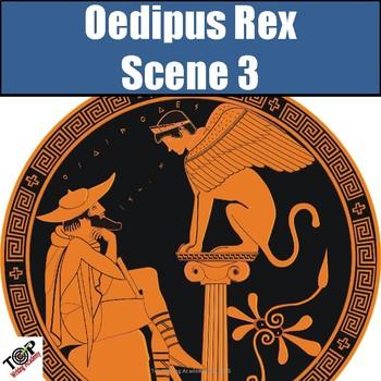 Oedipus Rex The King Sophocles Scene 3 Symbol Analysis Tragic Hero