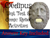 Oedipus Rex Unit Test, Review Game, &  Activities with Goo
