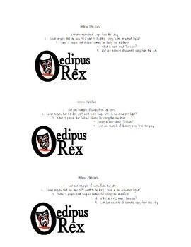 Oedipus Rex mini quiz