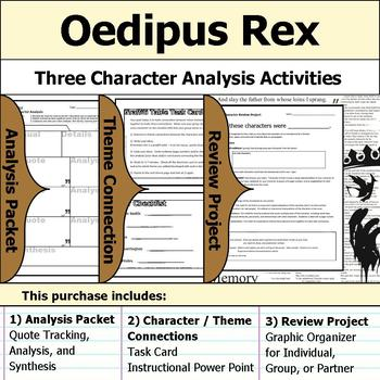 oedipus character analysis