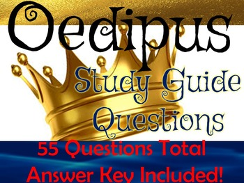 Oedipus Study Guide Questions and Answers