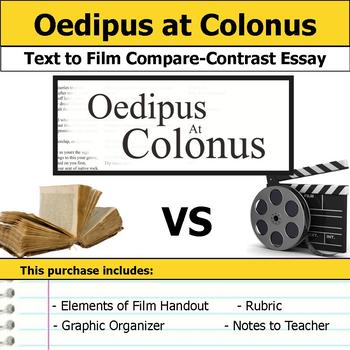 Oedipus at Colonus - Text to Film Essay Bundle