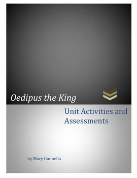 Oedipus the King Bundle Activities and Assessments