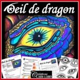 Oeil de dragon: Arts plastiques