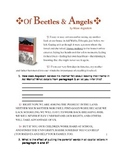 """""""Of Beetles & Angels"""" Close reading"""