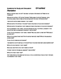 Of Fairfield Plantation(Study Guide Questions)