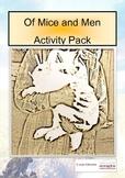Of Mice & Men Activity Pack