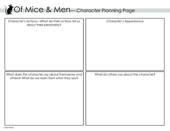 Of Mice & Men - Character Study
