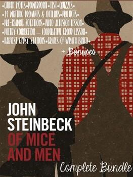Of Mice & Men - Unit Bundle + BONUSES