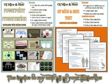 Of Mice & Men General Necessities Bundle