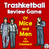 Of Mice and Men by John Steinbeck Trashketball Review Game