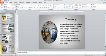 Of Mice and Men A Novel Study Chapter Guide {PowerPoint}