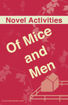 Of Mice and Men Activities Packet
