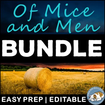 Of Mice and Men Activity Mini Bundle