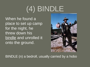 Of Mice and Men Chapter 1 Vocabulary PowerPoint