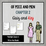 Of Mice and Men Chapter 2 Quiz and Key