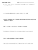 Of Mice and Men Chapter 3 Reading Analysis Questions