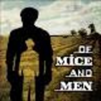 Of Mice and Men Chapter 5 by John Steinbeck Scavenger Hunt for Information