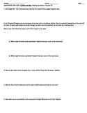 Of Mice and Men, Chapter 6, Guided Reading Questions