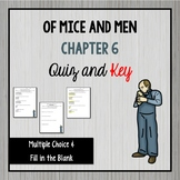 Of Mice and Men Chapter 6 Quiz and Key