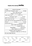 Of Mice and Men - Chapter One - Nouns and Verbs Practice