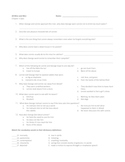 Of Mice and Men Chapter Quizzes and Vocab