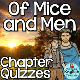Of Mice and Men Quizzes for the Entire Novel